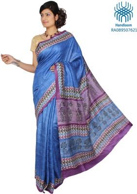 Jharcraft Printed Fashion Handloom Silk Sari