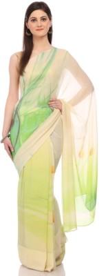 Sisel Printed Fashion Pure Chiffon Sari