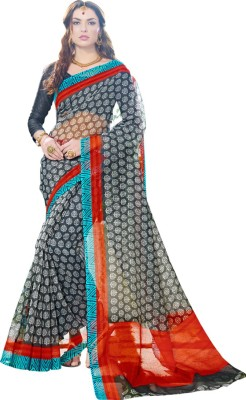 Vbuyz Printed Fashion Net Sari