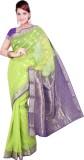 Ishin Floral Print Fashion Cotton Saree ...