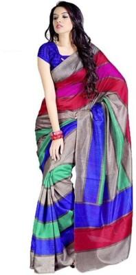 Fabkharidi Self Design Bollywood Cotton, Silk Sari
