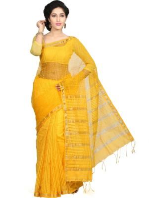 Crochetin Self Design Fashion Handloom Art Silk Sari