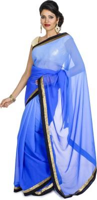 Annika Solid Fashion Chiffon Sari