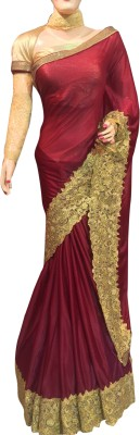 Lakmeart Embriodered Fashion Georgette Sari