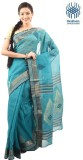 Tantuja Self Design Tangail Handloom Cot...