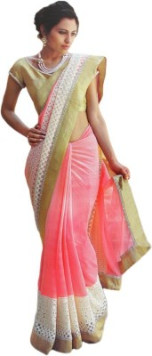 Sciocco Embriodered Fashion Georgette Sari