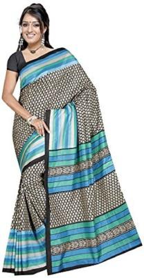 SahanaaDesignz Printed Bhagalpuri Art Silk Sari