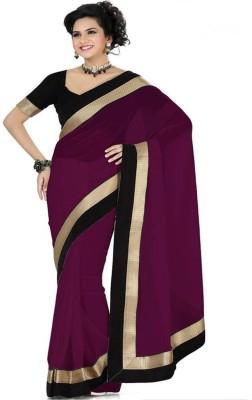 Online Adda Solid Fashion Chiffon Sari