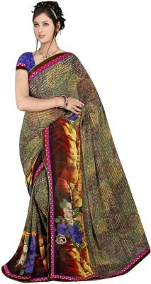 Janya Self Design Maheshwari Georgette Sari