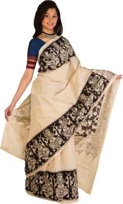 Indo Mood Hand Painted Fashion Cotton Sari