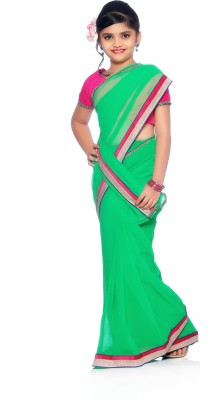 Bhartiya Paridhan Self Design Fashion Chiffon Sari