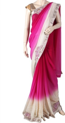 Glitters Printed Fashion Georgette Sari
