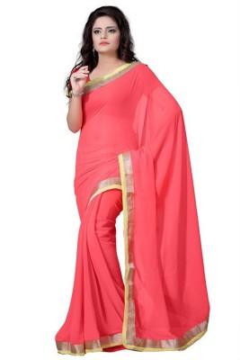 Aabha N Alia Embriodered Bollywood Handloom Georgette Sari