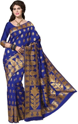 Radhika Creation Self Design Fashion Tussar Silk Sari