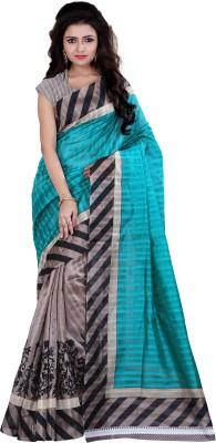Indi Wardrobe Printed Bhagalpuri Printed Silk Sari