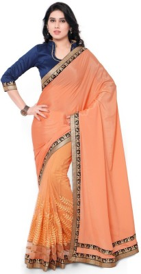 Prachi Silk Mills Floral Print Fashion Handloom Silk Sari