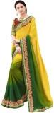 Shree Vardhman Printed Bollywood Georget...