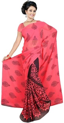 RRP Printed Fashion Georgette Sari