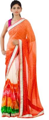 Aasmara Chevron Fashion Chiffon Sari