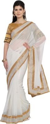 Moiaa Embellished Fashion Chiffon Sari