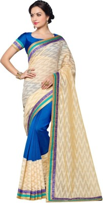 Reet Creation Embriodered Fashion Art Silk Sari