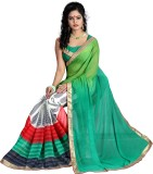 Sareeberry Printed Bollywood Georgette S...