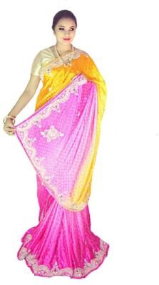 Home Design Embellished Bollywood Handloom Silk Sari