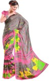 Cenizas Printed Fashion Georgette Saree ...