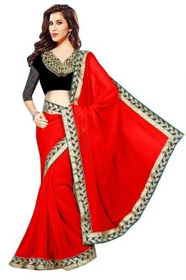 Anerra Embriodered Fashion Handloom Georgette Sari