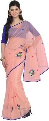 Moiaa Embriodered Fashion Cotton Sari