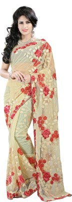 Shree Shyam Silk Embriodered Bollywood Net Sari