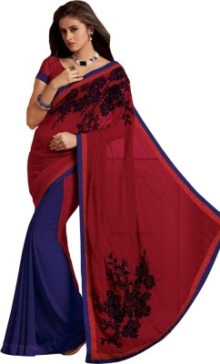 Laxmipati Self Design Bollywood Pure Chiffon Sari
