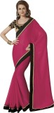 Subhash Sarees Self Design Fashion Chiff...
