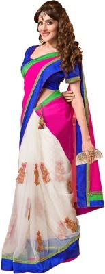 Aarnas Fashion Self Design Fashion Net Sari