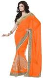 Moh Manthan Self Design Fashion Chiffon ...