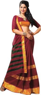 Kaveri Plain Fashion Cotton Sari