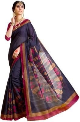 SGM Paisley, Polka Print, Geometric Print, Striped, Printed Fashion Art Silk Sari