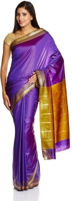 Parchayee Solid Mysore Polycotton Sari