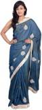 MSS Printed Bollywood Cotton Saree (Grey...
