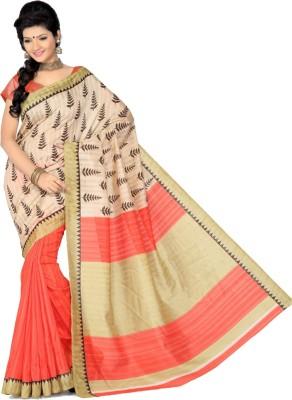 Offer Point Self Design Bollywood Silk Sari