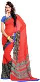 EthnicQueen Floral Print Bandhej Handloo...