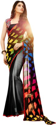 Shaily Printed Fashion Georgette Sari