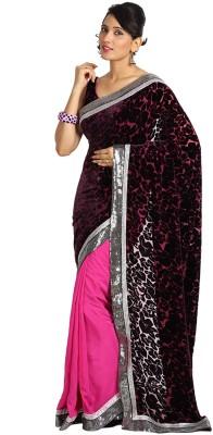 Vandanaraj Printed Fashion Crepe Sari