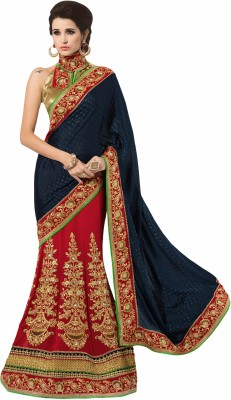 Desi Look Self Design Fashion Georgette Sari
