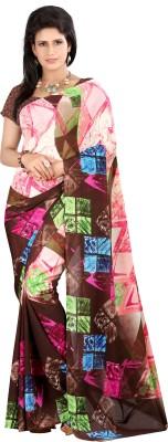 Sarang Dispatch Printed Daily Wear Georgette Sari
