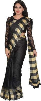 AtiGrens Geometric Print Bhagalpuri Art Silk Sari