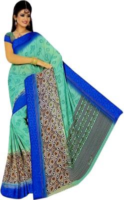 Varlaxmi Printed Daily Wear Synthetic Sari