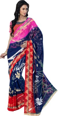 Varnilifestyle Printed Daily Wear Viscose Sari