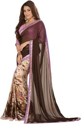 Vbuyz Printed Fashion Georgette Sari