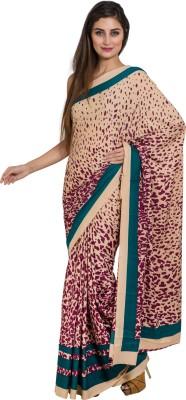 Satrang Printed Fashion Crepe Sari